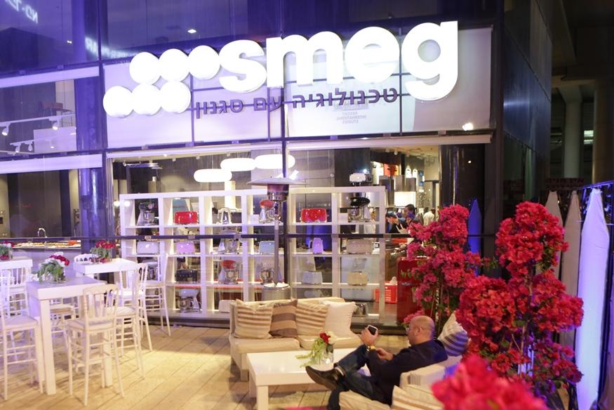 אירוע עסקי - השקת מוצר - סמאג - עיצוב מתחם