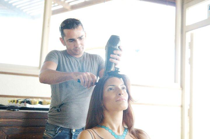 הפקות צילום - מאחורי הקלעים - עיצוב שיער