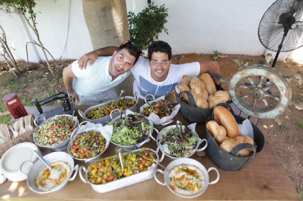אירוע קיץ לחברת סטנדרט - אוכל