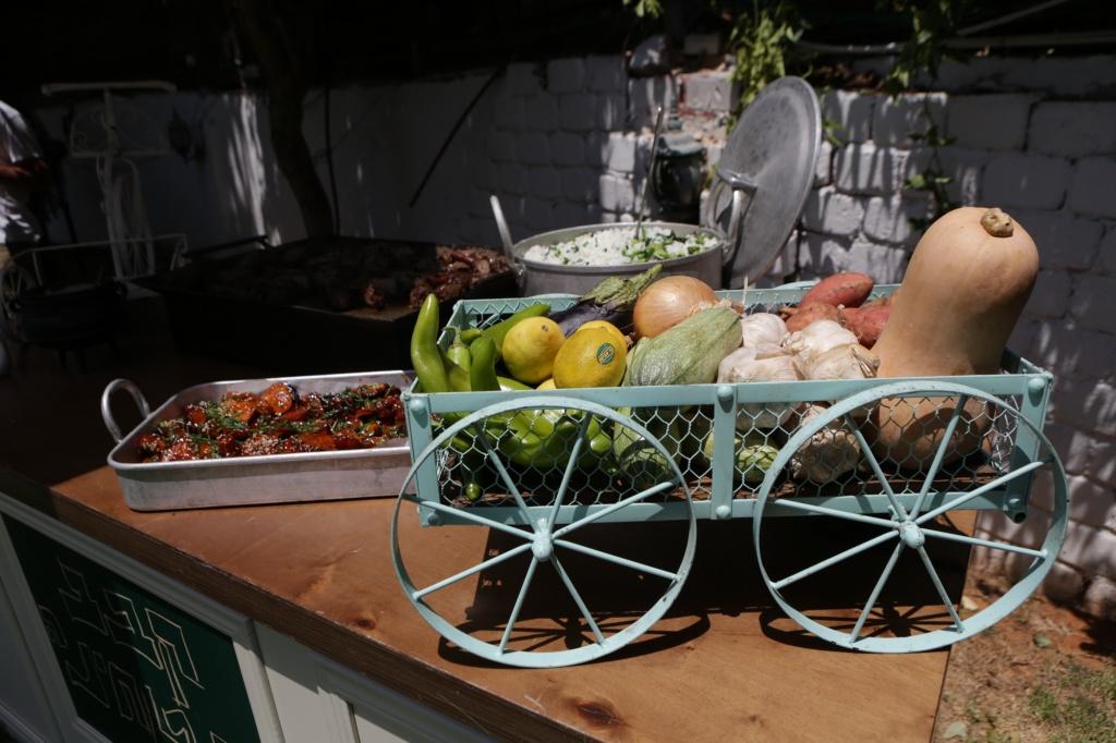 אירוע קיץ לחברת סטנדרט - עיצוב אוכל