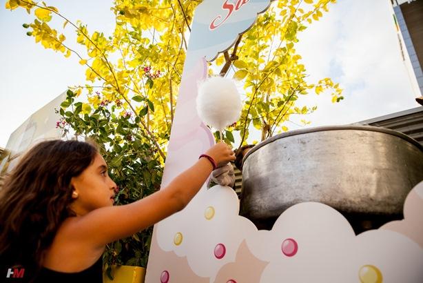 אירוע וראייטי גיוס תרומות לילדים בקונספט ממתקים ושוקולד