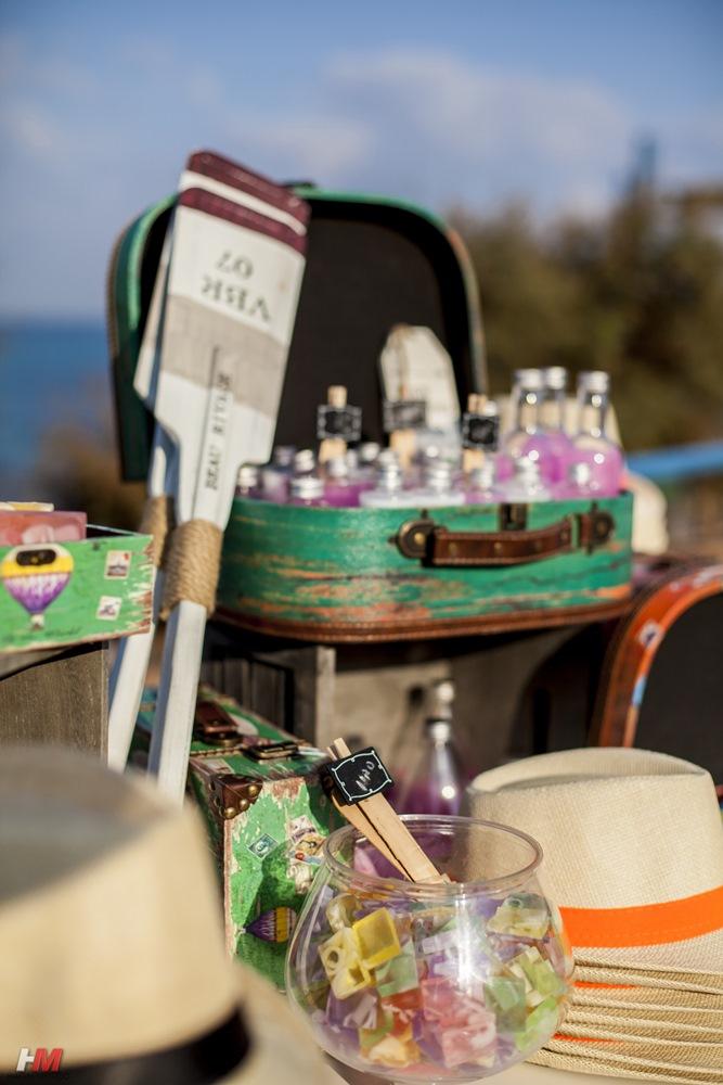 אירוע חוף - קונספט יווני - חכןם בשמש