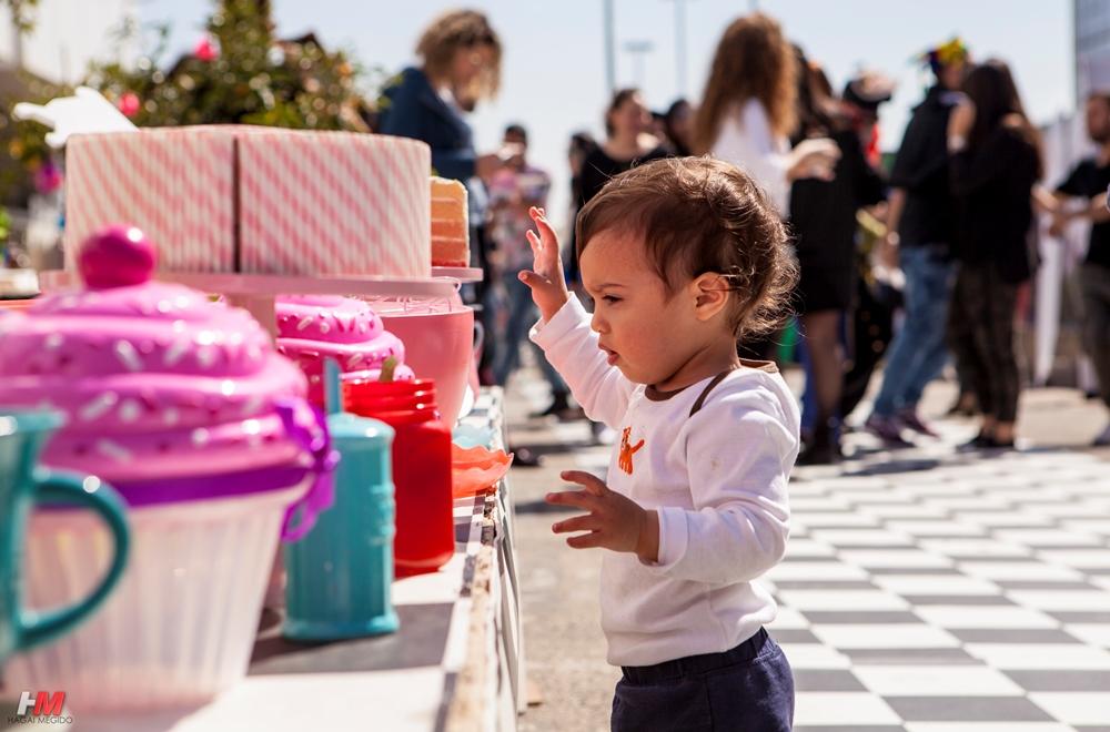 תמונת אווירה - ילדים קטנים באירוע
