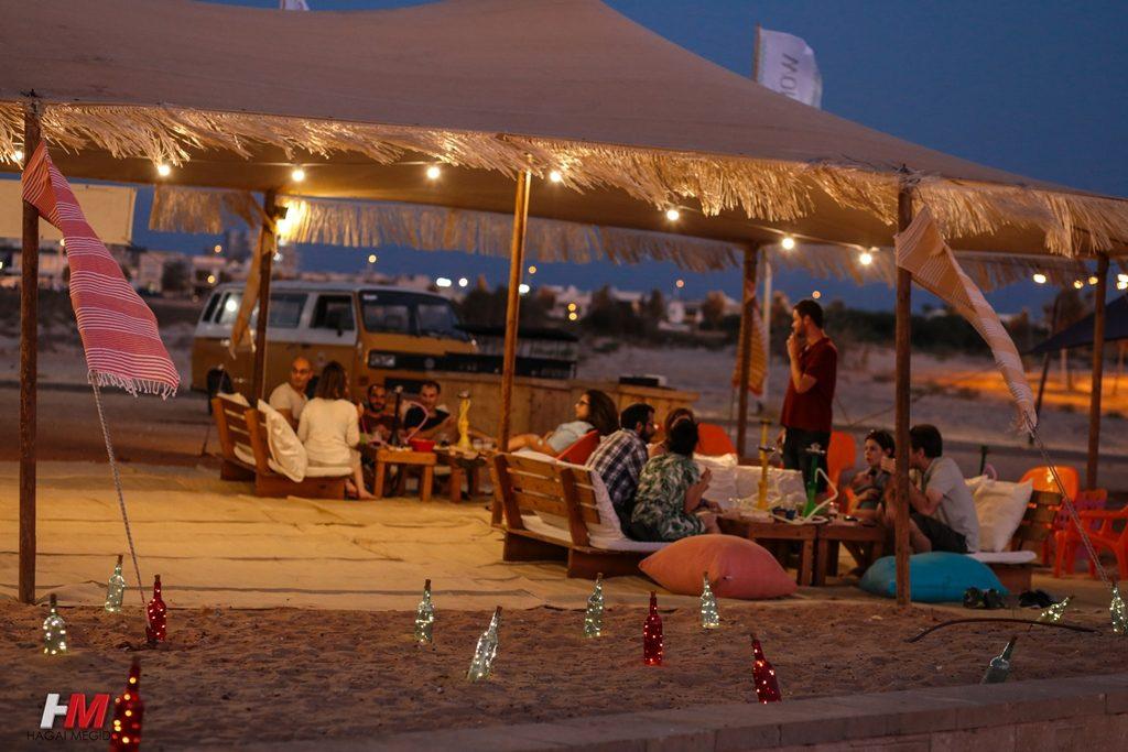ערב בחוף